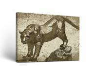 Georgia State Panthers Sketch Canvas Wall Art