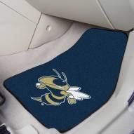 Georgia Tech Yellow Jackets 2-Piece Carpet Car Mats