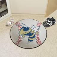 Georgia Tech Yellow Jackets Baseball Rug