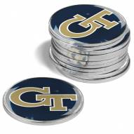 Georgia Tech Yellow Jackets 12-Pack Golf Ball Markers