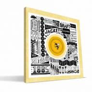 "Georgia Tech Yellow Jackets 16"" x 16"" Pictograph Canvas Print"
