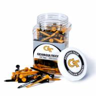 Georgia Tech Yellow Jackets 175 Golf Tee Jar