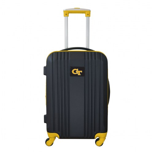 """Georgia Tech Yellow Jackets 21"""" Hardcase Luggage Carry-on Spinner"""