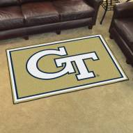 Georgia Tech Yellow Jackets 4' x 6' Area Rug