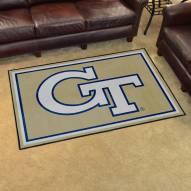 Georgia Tech Yellow Jackets 4' x 6' Area Rug