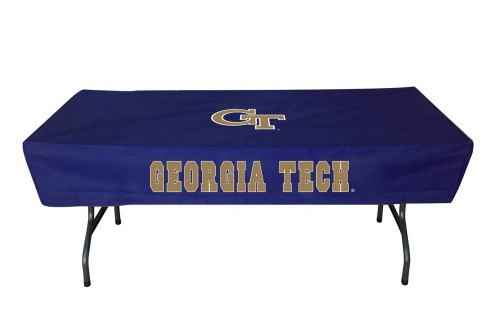 Georgia Tech Yellow Jackets 6' Table Cover