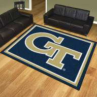 Georgia Tech Yellow Jackets 8' x 10' Area Rug