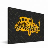 "Georgia Tech Yellow Jackets 8"" x 12"" Mascot Canvas Print"