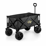 Georgia Tech Yellow Jackets Adventure Wagon with All-Terrain Wheels