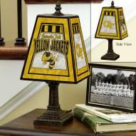 Georgia Tech Yellow Jackets Art Glass Table Lamp