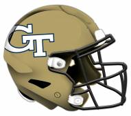 Georgia Tech Yellow Jackets Authentic Helmet Cutout Sign
