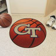 Georgia Tech Yellow Jackets Basketball Mat