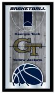Georgia Tech Yellow Jackets Basketball Mirror