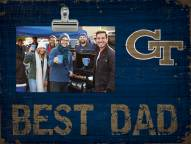 Georgia Tech Yellow Jackets Best Dad Clip Frame