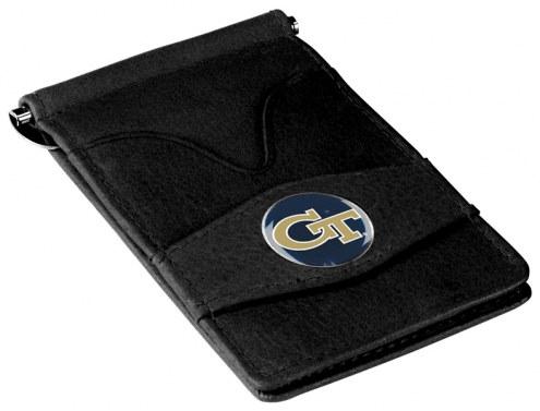 Georgia Tech Yellow Jackets Black Player's Wallet