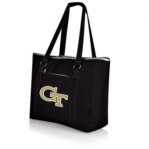 Georgia Tech Yellow Jackets Black Tahoe Beach Bag