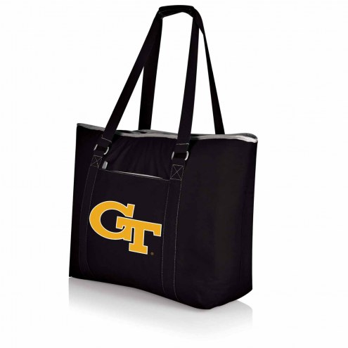 Georgia Tech Yellow Jackets Black Tahoe Beach Bag