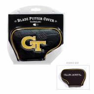 Georgia Tech Yellow Jackets Blade Putter Headcover
