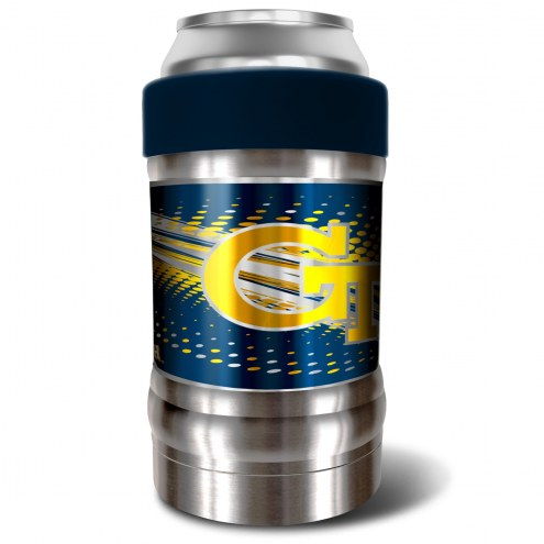 Georgia Tech Yellow Jackets Blue 12 oz. Locker Vacuum Insulated Can Holder