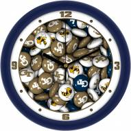 Georgia Tech Yellow Jackets Candy Wall Clock
