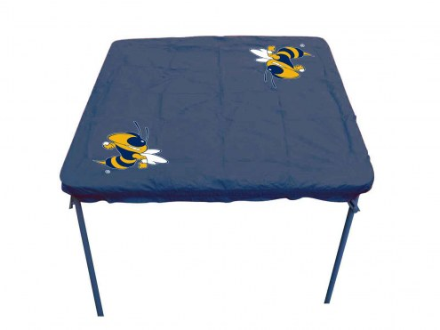 Georgia Tech Yellow Jackets Card Table Cover