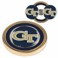 Georgia Tech Yellow Jackets Challenge Coin with 2 Ball Markers