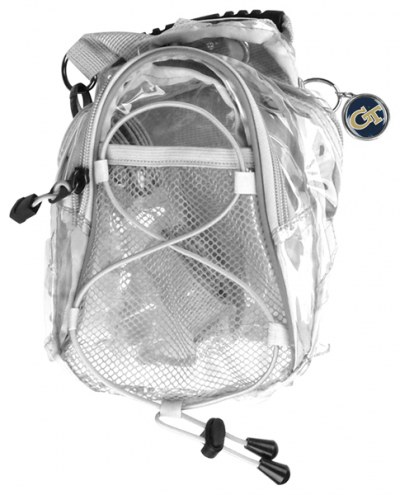 Georgia Tech Yellow Jackets Clear Event Day Pack