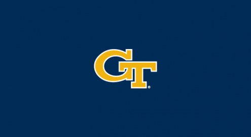 Georgia Tech Yellow Jackets College Team Logo Billiard Cloth