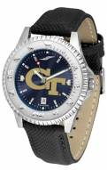Georgia Tech Yellow Jackets Competitor AnoChrome Men's Watch
