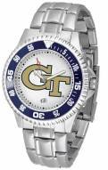 Georgia Tech Yellow Jackets Competitor Steel Men's Watch