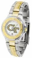 Georgia Tech Yellow Jackets Competitor Two-Tone Women's Watch