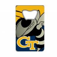 Georgia Tech Yellow Jackets Credit Card Style Bottle Opener