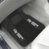 Georgia Tech Yellow Jackets Deluxe Car Floor Mat Set