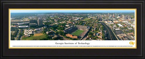 Georgia Tech Yellow Jackets Deluxe Framed Panorama