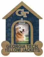 Georgia Tech Yellow Jackets Dog Bone House Clip Frame