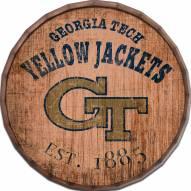 "Georgia Tech Yellow Jackets Established Date 16"" Barrel Top"