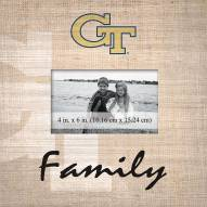 Georgia Tech Yellow Jackets Family Picture Frame