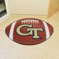 Georgia Tech Yellow Jackets Football Floor Mat