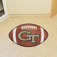 Georgia Tech Yellow Jackets Football Floor Mat