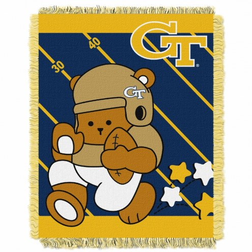 Georgia Tech Yellow Jackets Fullback Baby Blanket