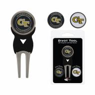 Georgia Tech Yellow Jackets Golf Divot Tool Pack