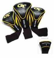 Georgia Tech Yellow Jackets Golf Headcovers - 3 Pack