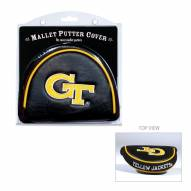Georgia Tech Yellow Jackets Golf Mallet Putter Cover