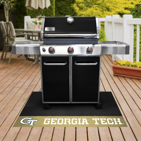 Georgia Tech Yellow Jackets Grill Mat