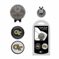 Georgia Tech Yellow Jackets Hat Clip & Marker Set