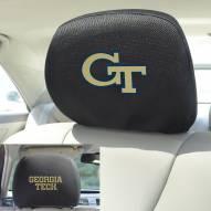 Georgia Tech Yellow Jackets Headrest Covers