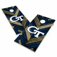 Georgia Tech Yellow Jackets Herringbone Cornhole Game Set