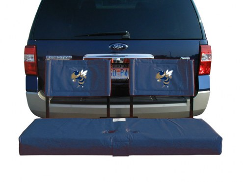 Georgia Tech Yellow Jackets Tailgate Hitch Seat/Cargo Carrier