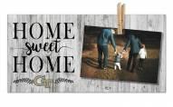 Georgia Tech Yellow Jackets Home Sweet Home Clothespin Frame