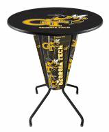 Georgia Tech Yellow Jackets Indoor Lighted Pub Table